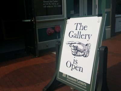 gallery is open by jael harrington