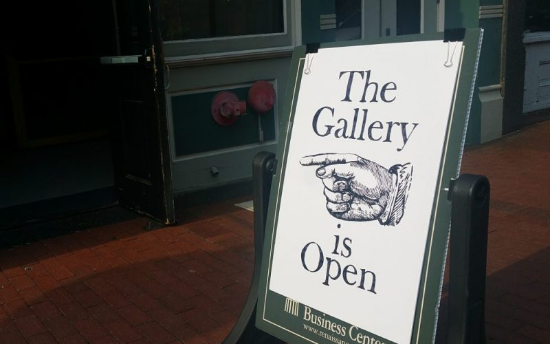 gallery is open by jael harrington